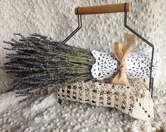 Dried French Lavender Bouquet - Wedding Bouquet, Bridal Bouquet