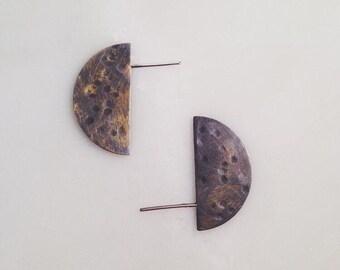 Dark Side of the Moon Earrings