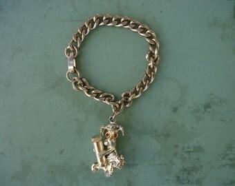 Poodle Charm Bracelet