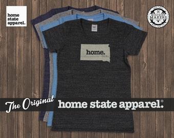 South Dakota Home. T-shirt- Womens Cut