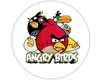 Angry birds sticker   Etsy