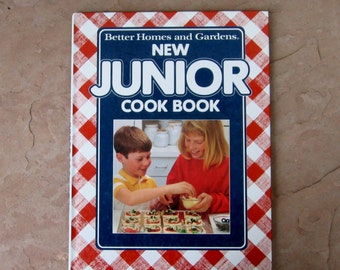 New Junior Cookbook, Better Homes and Gardens New Junior Cook Book, 1989 Kids Cookbook