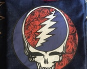 Large Grateful Dead Steal Your Face Tote Bag