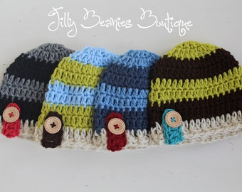 Baby Boy Hats, Baby Hats, Boy Hats, Kids Hats, Boy Beanies, Children Hats, Infant Hat, Newborn Hat, Twin Hat, Beanies, Knit
