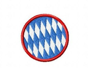 Embroidery pattern - Bavaria circle