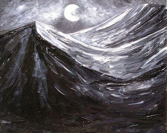 Moonlit Night Original Artwork Print