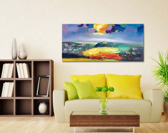 Abstract Art, Abstract Painting, Large Art, Canvas Art, Modern Wall Art, Large Abstract Painting, Landscape Oil Painting, Painting On Canvas
