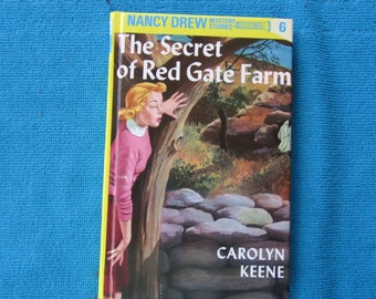 Hidden Journal Made From Nancy Drew The Secret of the Red Gate Farm by Carolyn Keene