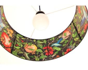Pendant Lamp 45 x 20 cm, pendant lamp XXL-IN, pendant lamp Pomegranate Tree, pendant lamp big, big lamp, ceiling lamp, hummingbirds lamp