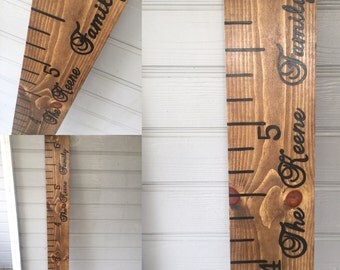 Growth Chart Ruler; Growth chart; wooden growth ruler;ruler; newborn gift; wooden ruler; first birthday gift; measuring stick; nursery decor