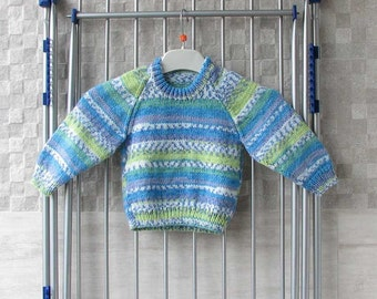 Vintage Hand Knit Baby Sweater,