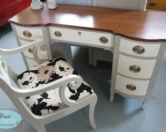 Antique Federal Style Desk & Chair Set