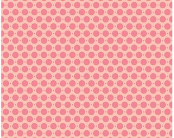 Riley Blake Designs Pink Sweet Dots 100% Cotton Duck Fabric Pattern #HD5005