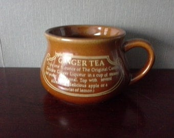 Ginger tea mug