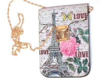 PARIS LOVE MESSENGER Bag