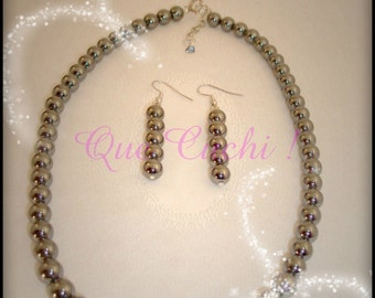 "Shop ""hematite"" in Jewelry Sets"