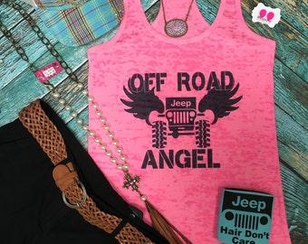 Off Road Angel tank top
