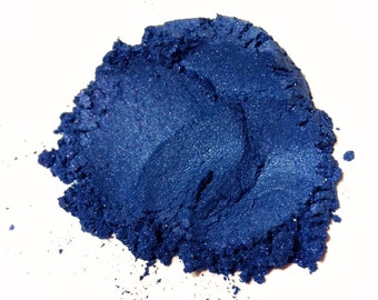 BLUE SAPPHIRE Mineral Eye Shadow - Natural Mineral Makeup - Gluten Free Vegan Face Color