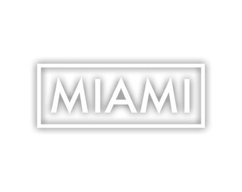 Miami decal