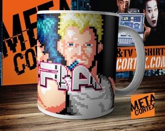 Retro Games Contra Nintendo NES Mug