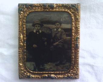 Victorian Tintype Photograph