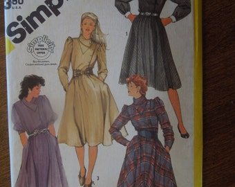 Simplicity 6025, size 14, misses, womens, dress, UNCUT sewing pattern, craft supplies