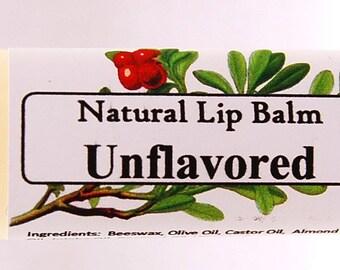 Flavorless Lip Balm