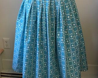 1950's Loomtag Circle Skirt