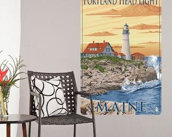 Portland Head Lighthouse Maine Wall Decal - #60899