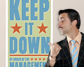 Keep It Down Management Wall Decal - #64624