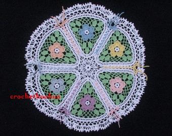 Crochet Shoelace Doily