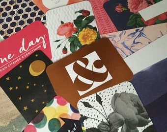 Project Life Journaling Cards Modern Edition