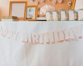 Printable Happy Birthday Banner - Sugar and Spice Party