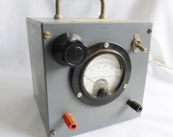 Milliamperes D.C. Voltmeter Electric Tester Weston Model  301