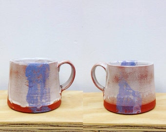 Purple Stripe Mug