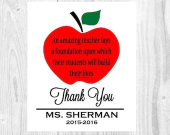 Principal Print Principal Gift Principal Appreciation