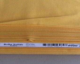 Moda Bella Solid Yellow 9900/24 - fabric