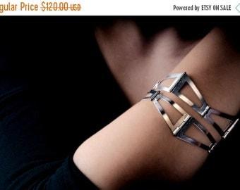 ON SALE Architecture -  Architecture Bracelet - Architecture Jewelry - Architecture Silver