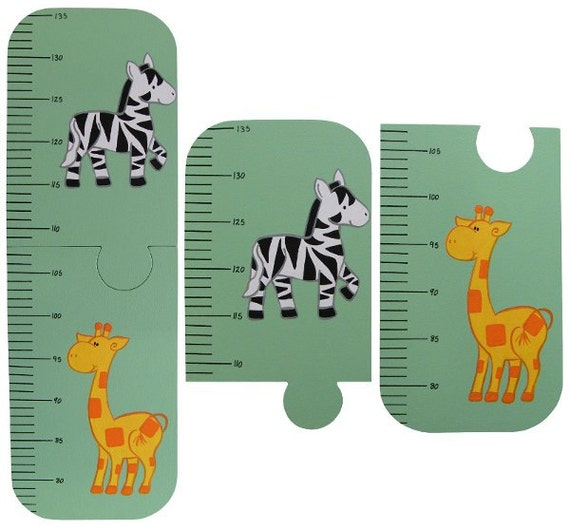 Wooden Giraffe Growth Chart Rebellions
