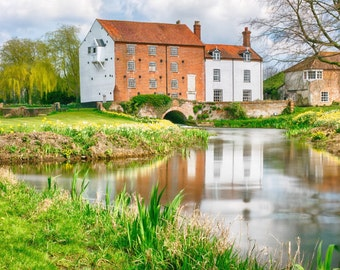 Fine art print Bintree Mill Norfolk