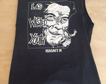 Vintage WASTED YOUTH Shirt