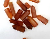 Carnelian Crystal Point,  Perfect For Crystal Grids, Healing Crystals, Metaphysical Decor
