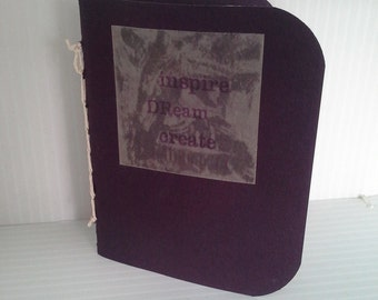 Inspire Dream Create journal