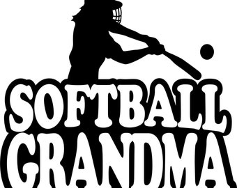 Softball Grandma Shirt/ Softball Grandm Tshirt/ Girl Player Softball Grandma Short Sleeve Gildan T Shirt Many Colors