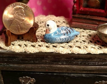Dollhouse Miniature Duck 1:12 scale 17421