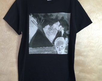 Zombie Nation Tees by Frank Buffalo Hyde- Size XL