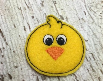 2 Inch Chick Feltie- In The Hoop - DIGITAL Embroidery Design