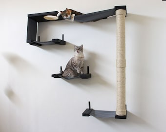 cat sky track   cat hammock shelves   free us shipping  32 cat hammock shelf free us shipping  rh   etsy