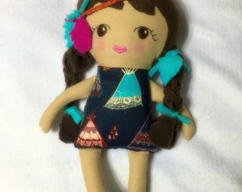 Custom handmade cloth doll // rag doll