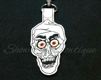 Skeleton Guy Key Fob design Instant Download